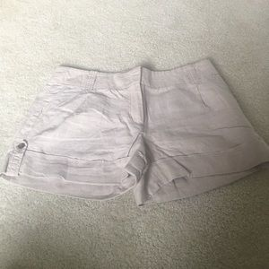 Linen J. Crew City Fit size 12 shorts